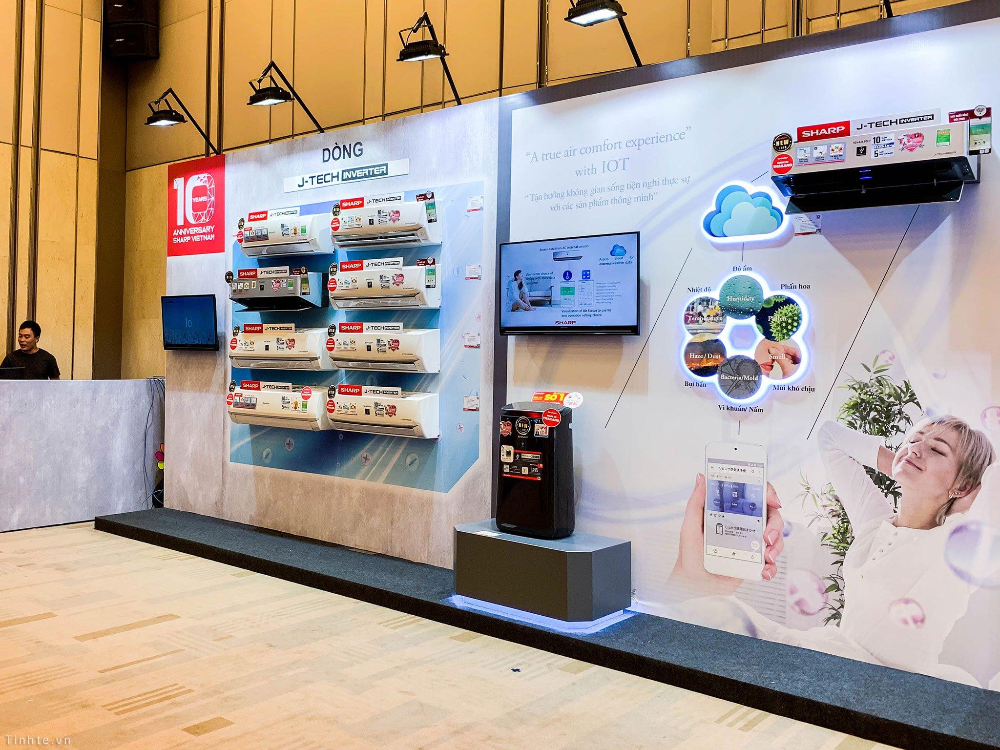 Sharp Việt Nam kỷ niệm 10 năm có mặt, trưng bày và giới thiệu một loạt công nghệ mới - Hình 4