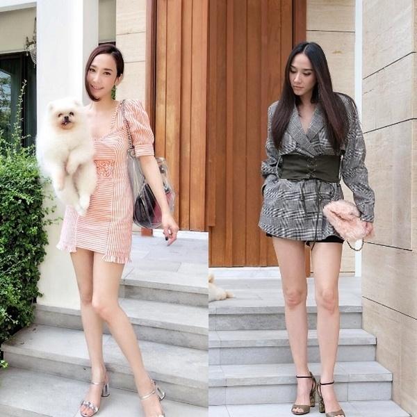 Style trẻ trung của mỹ nhân U40 Thái Lan khiến dân mạng sửng sốt - Hình 7