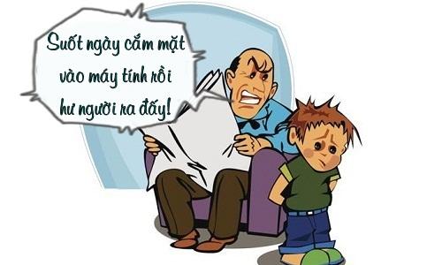 Trưa cười: Trẻ con đau đầu trước lý luận của người lớn - Hình 1
