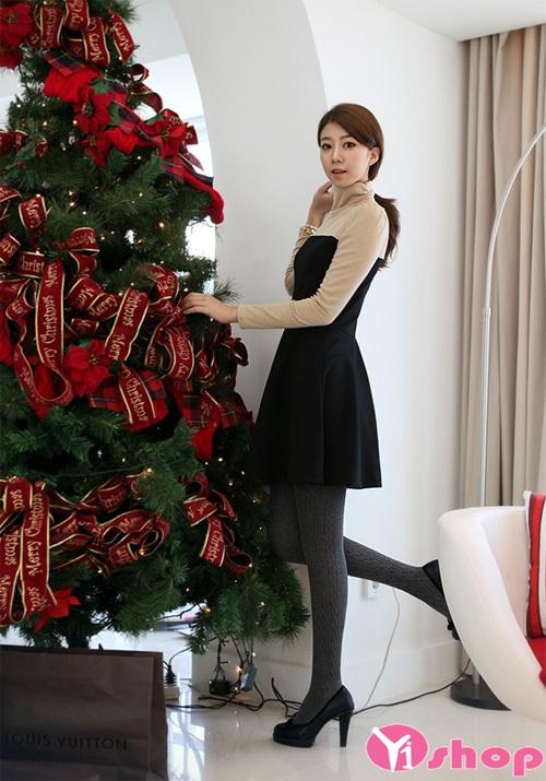 Váy đầm dáng xòe đẹp cho vẻ ngoài đáng yêu như teengirl xứ hàn - Hình 12