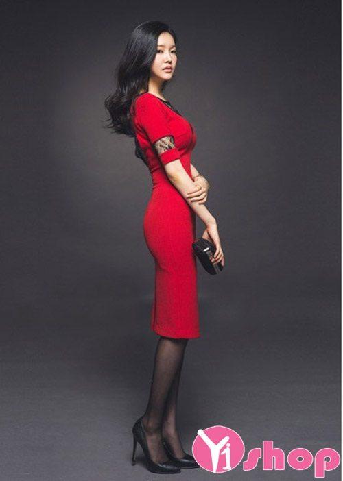 Váy đầm ôm body đẹp quyến rũ khoe dáng ngọc gợi cảm dự tiệc - Hình 11