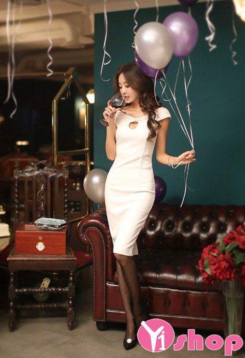Váy đầm ôm body đẹp quyến rũ khoe dáng ngọc gợi cảm dự tiệc - Hình 14