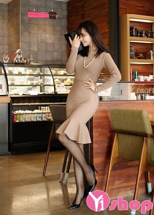 Váy đầm ôm body đẹp quyến rũ khoe dáng ngọc gợi cảm dự tiệc - Hình 9