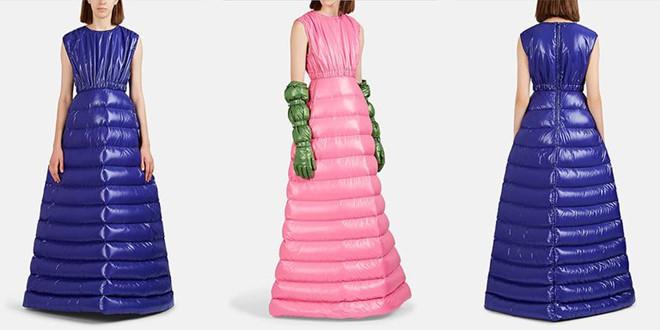 Váy lấy cảm hứng từ áo phao: Giải pháp cho mùa đông lạnh buốt? - Thời trang