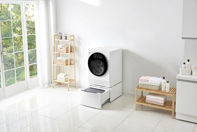 Mẹo thiết kế góc giặt tiện ích miễn chê cho căn hộ chung cư nhỏ - Hình 3