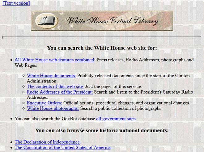 Quay ngược thời gian, xem 12 website nổi tiếng ngày xưa trông ra sao - Hình 12