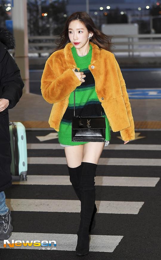 Trời lạnh đừng bỏ lỡ những công thức lên đồ thần thánh của Taeyeon, Seo Hyun Jin - Hình 3