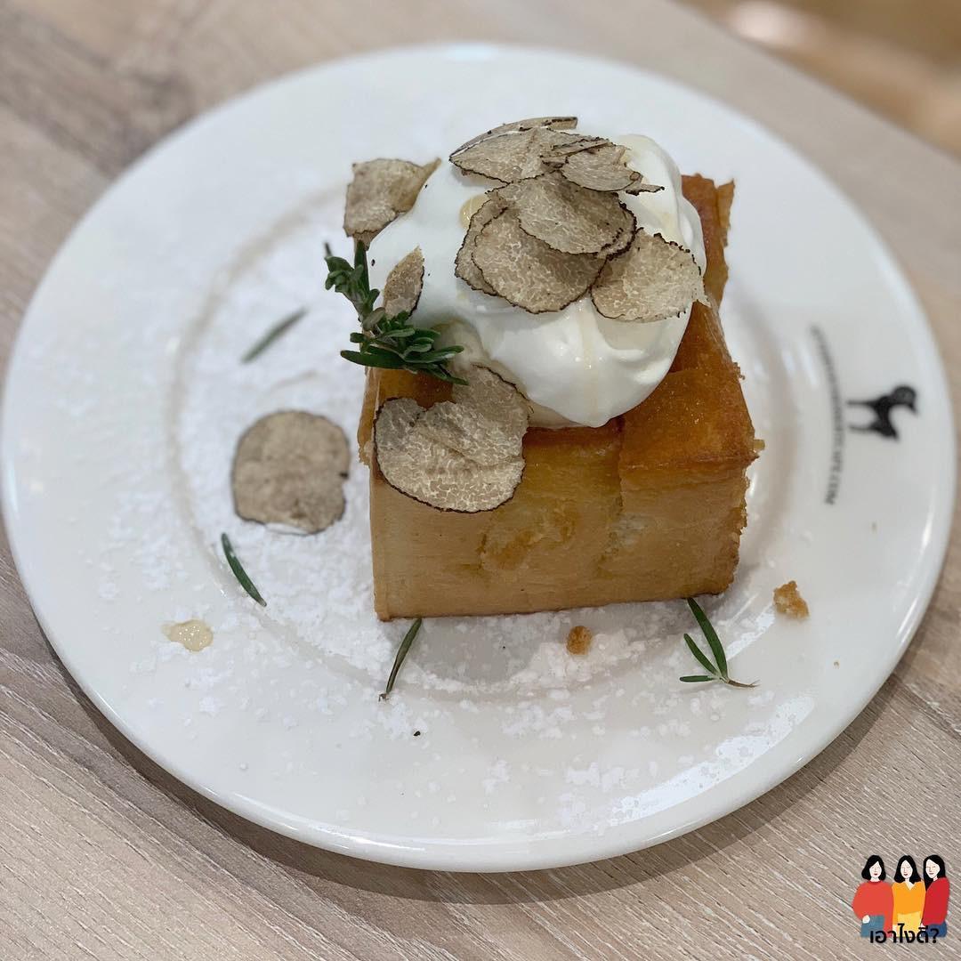 After You nổi tiếng Bangkok cho hẳn nấm truffle làm topping bánh toast giá không đắt nhưng không hề dễ mua - Hình 4