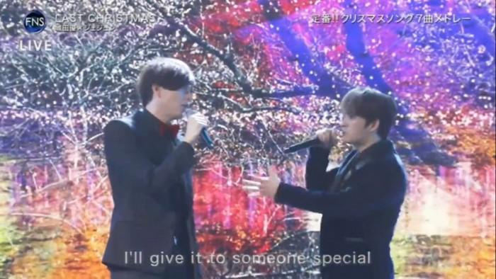 Shirota Yuu và Jae Joong song ca đẹp hớp hồn fan tại FNS Music Festival 2018 - Hình 1