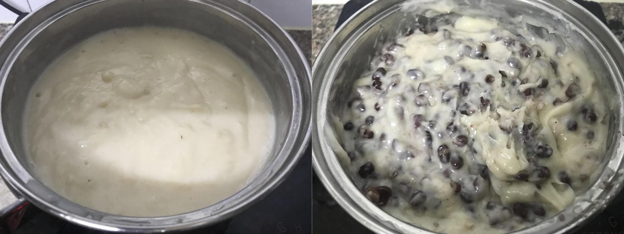 Làm bánh dừa đậu đỏ - món tráng miệng mềm mịn khó chối từ - Hình 4