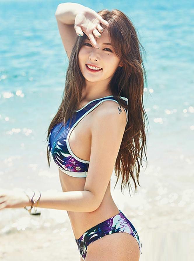 Loạt ảnh những nàng hotgirl xinh đẹp Hàn Quốc mặc đồ tắm đầy quyến rũ, gợi cảm - Hình 1