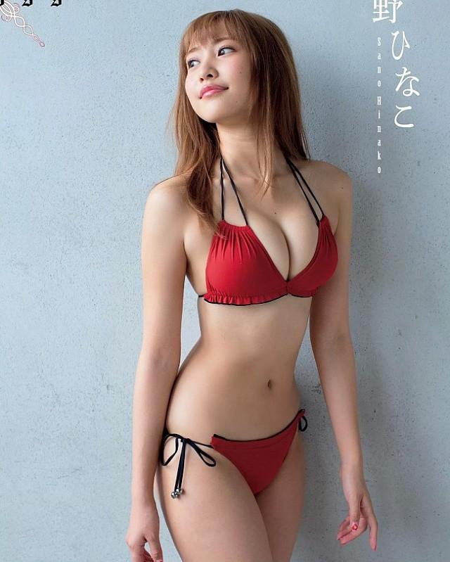 Nhan sắc 2 nàng mẫu Nhật mỡ màng, phổng phao làm đổ gục cánh mày râu - Hình 4