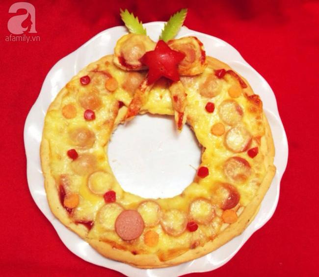 5 cách siêu cute làm vòng nguyệt quế từ đồ ăn cho mùa Noel thêm rực rỡ - Hình 3