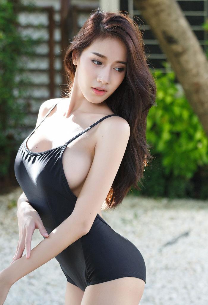 Khuôn ngực hờ hững của người đẹp Thái Lan khiến phái mạnh khao khát - Hình 4