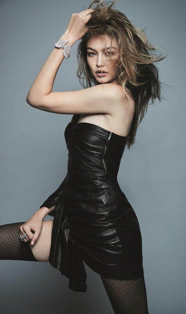 Chân dài Gigi Hadid phô đường cong vệ nữ khiến fan điên đảo - Hình 5