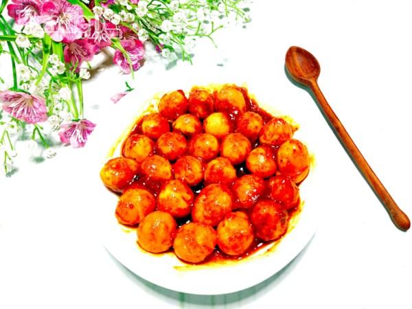 Trứng cút rim cà ri béo thơm, ăn đưa cơm phải biết - Hình 6