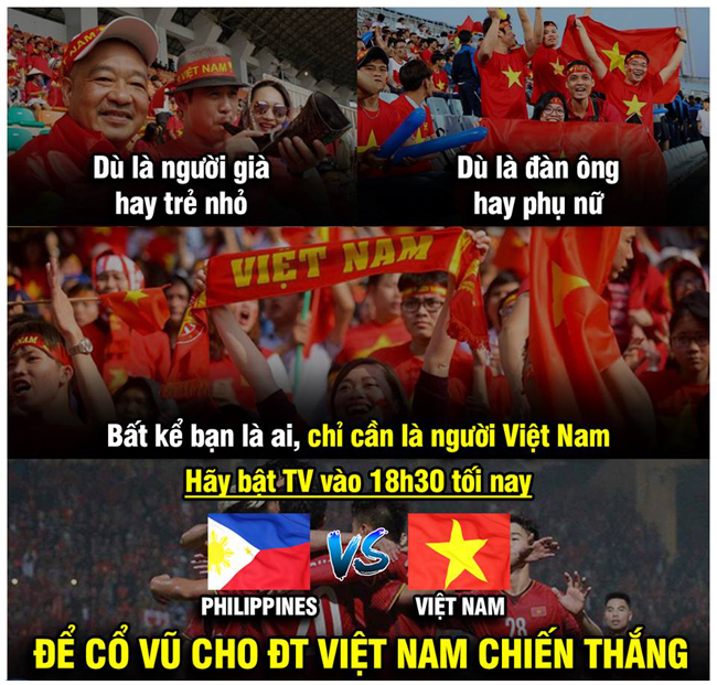 Cư dân mạng sục sôi trước trận bán kết lượt đi giữa Philippines và Việt Nam - Hình 1
