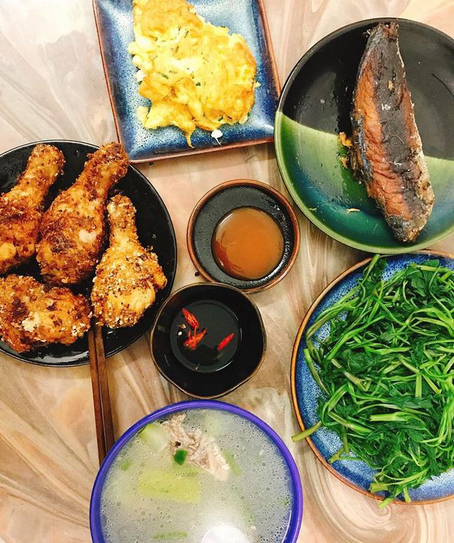 Cô vợ Hà Nội khoe loạt mâm cơm 2 người, mỗi ngày nấu đúng một bữa nhưng tốn không dưới 200 nghìn - Hình 12
