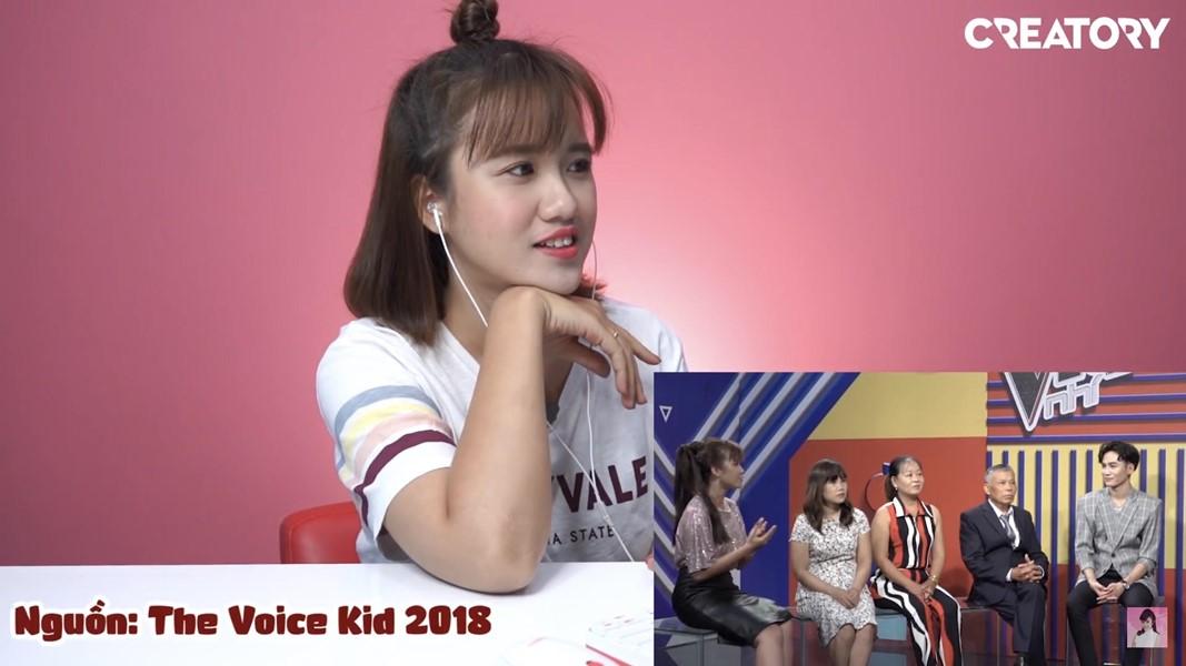 MC Vannie chia sẻ đủ cung bậc cảm xúc khi reaction chính mình trong The Voice Kids 2018 - Hình 2