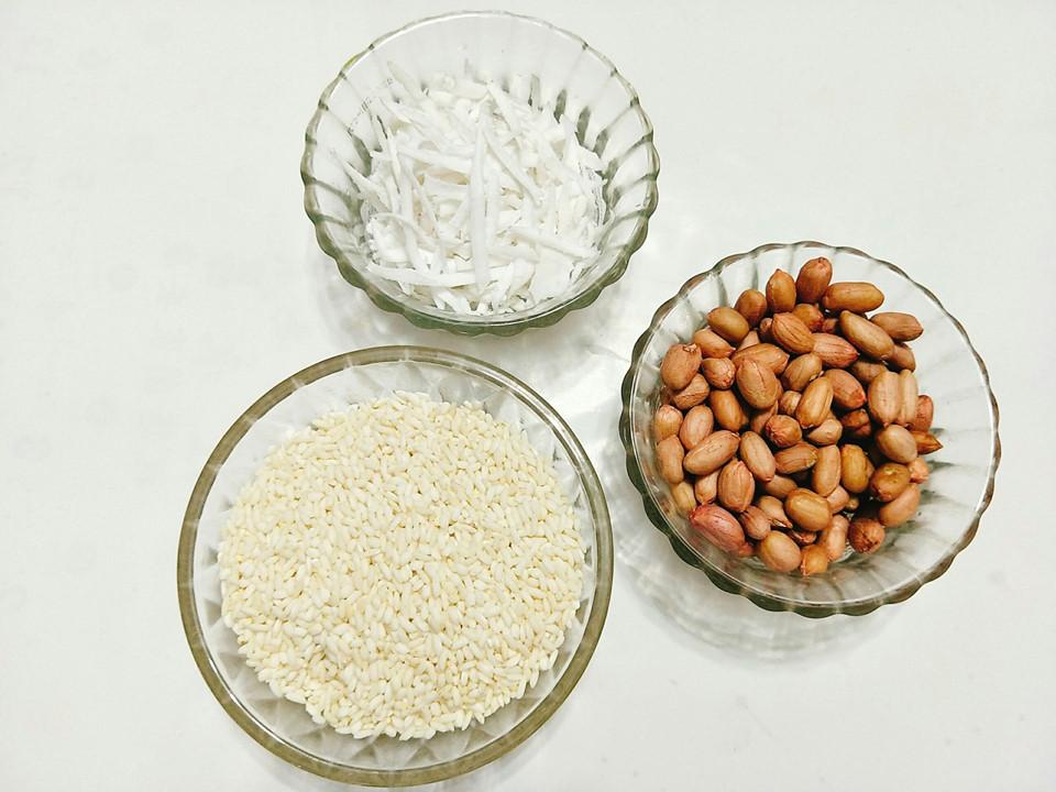 Xôi đậu phộng dừa - món ăn truyền thống hấp dẫn mùa đông - Hình 1