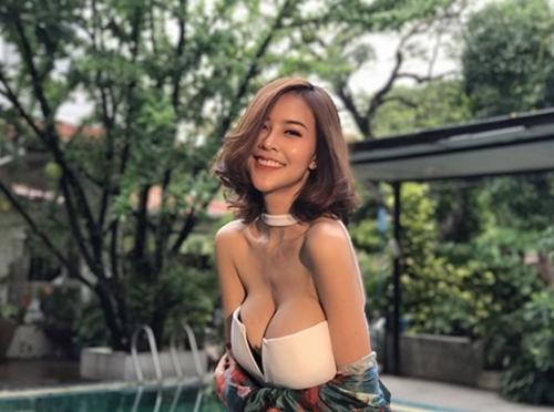 Hết hồn với nàng người mẫu Thái Lan có núi đôi căng tràn như sắp nổ tung - Hình 6