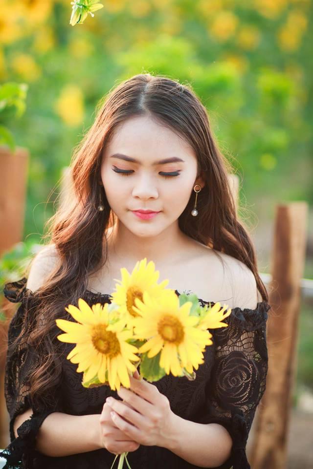 Nữ sinh Hutech bị nhầm là bông hồng lai Thái Lan vì nét đẹp đặc biệt thu hút - Hình 3