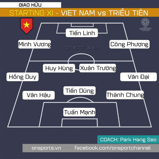 Trực tiếp bóng đá: Việt Nam - Triều Tiên, Công Phượng và Xuân Trường sát cánh 3 tân binh - Hình 11