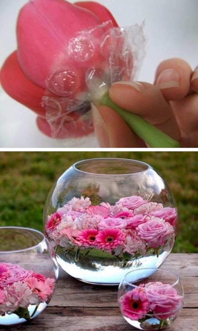 7 mẹo vặt và thủ thuật giúp bạn cắm hoa đẹp, hóa nữ công gia chánh trong mắt mọi người - Hình 5