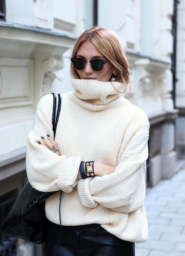 9 món đồ màu trắng bạn hoàn toàn có thể diện trong mùa đông - Hình 4