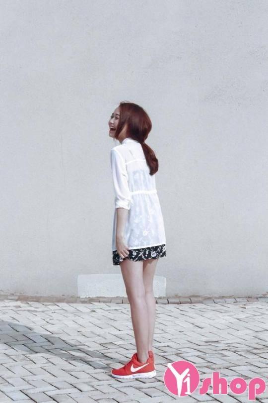 Kiểu thời trang hàn quốc áo sơ mi nữ đẹp đang dẫn đầu xu thế năm nay - Hình 4