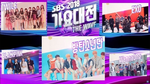 SBS Gayo Daejun 2018: Hai nhóm nhạc bị nghi ngờ nhép từ đầu đến cuối trong khi các nghệ sĩ khác hì hục hát live - Hình 1