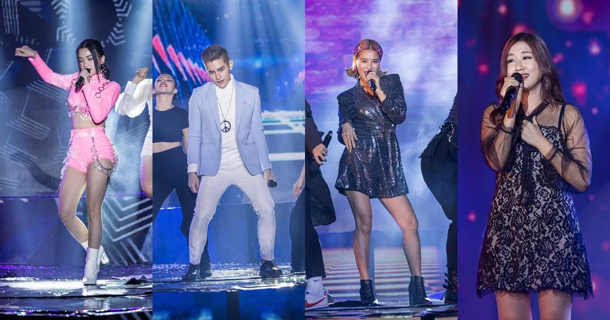 Sĩ Thanh, Tino, Hoàng Yến Chibi, JinJu mang những bản hit góp mặt trong liveshow đầu tiên của Zero9 - Hình 15