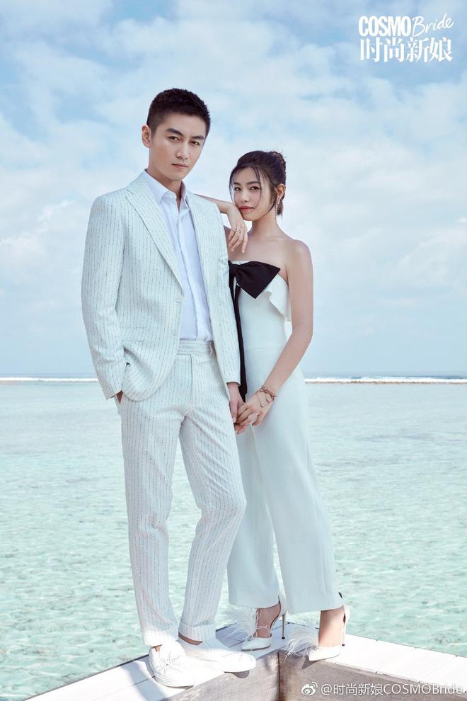Trọn vẹn bộ ảnh cưới cặp đôi Trần Hiểu - Trần Nghiên Hy chụp lần 2 hâm nóng tình cảm vợ chồng - Hình 3