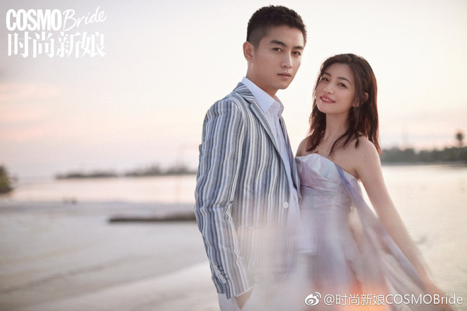 Trọn vẹn bộ ảnh cưới cặp đôi Trần Hiểu - Trần Nghiên Hy chụp lần 2 hâm nóng tình cảm vợ chồng - Hình 8