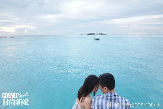 Trọn vẹn bộ ảnh cưới cặp đôi Trần Hiểu - Trần Nghiên Hy chụp lần 2 hâm nóng tình cảm vợ chồng - Hình 7