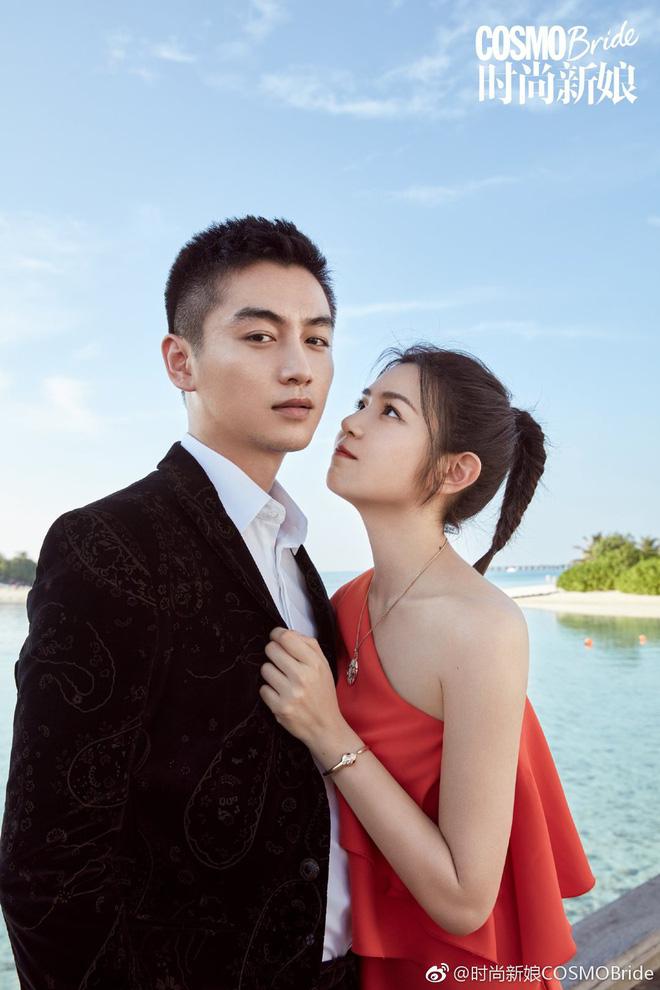 Trọn vẹn bộ ảnh cưới cặp đôi Trần Hiểu - Trần Nghiên Hy chụp lần 2 hâm nóng tình cảm vợ chồng - Hình 4