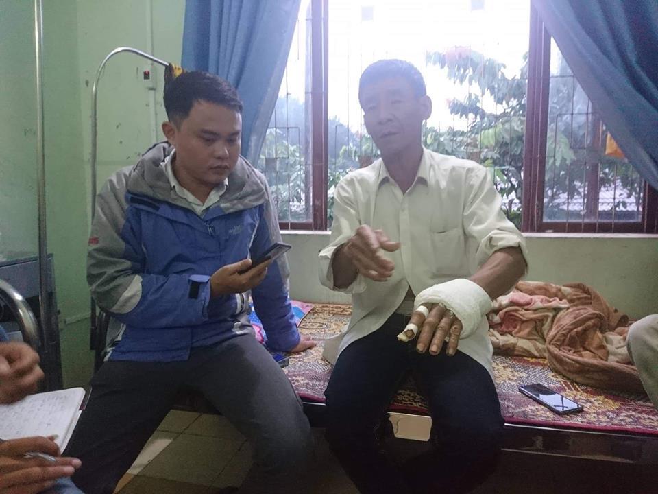 Vụ Phó trưởng công an xã 9x đụng tay khiến dân nhập viện: Sự thật đằng sau lời nói dối - Hình 1