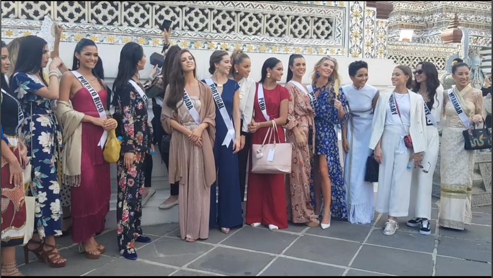 Bắn tiếng Thái khiến người dân phát cuồng, HHen Niê nổi bần bật giữa dàn mỹ nhân Miss Universe 2018 - Hình 2