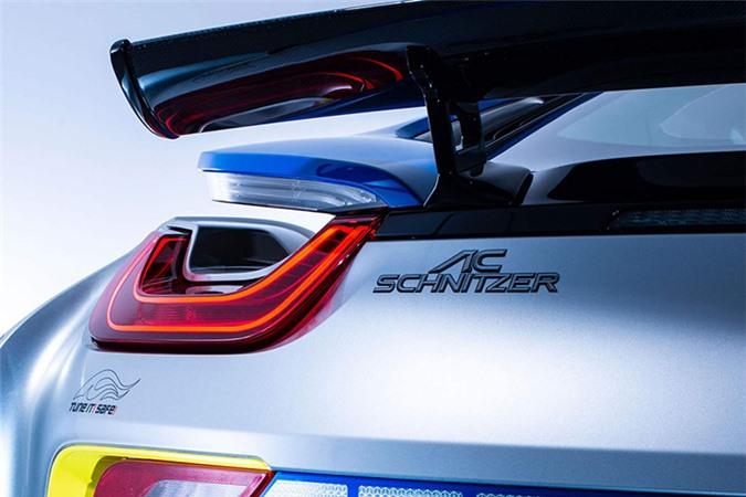 Chi tiết siêu xe BMW i8 Roadster khủng của cảnh sát Đức - Hình 7