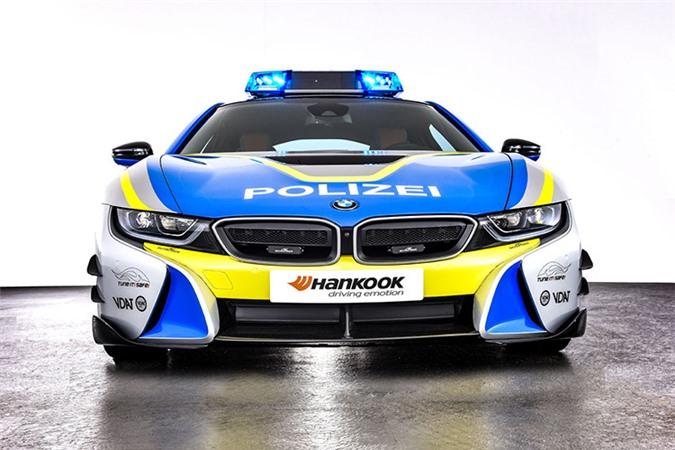 Chi tiết siêu xe BMW i8 Roadster khủng của cảnh sát Đức - Hình 8