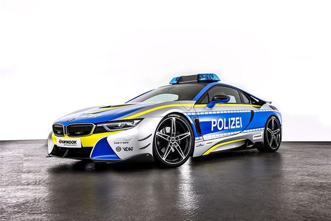 Chi tiết siêu xe BMW i8 Roadster khủng của cảnh sát Đức - Hình 1
