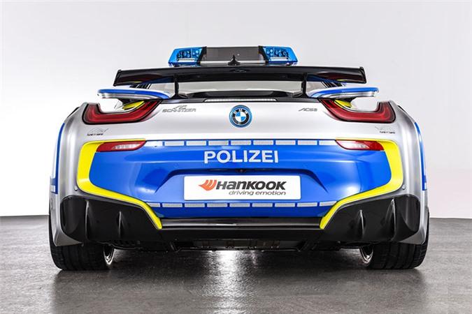 Chi tiết siêu xe BMW i8 Roadster khủng của cảnh sát Đức - Hình 4
