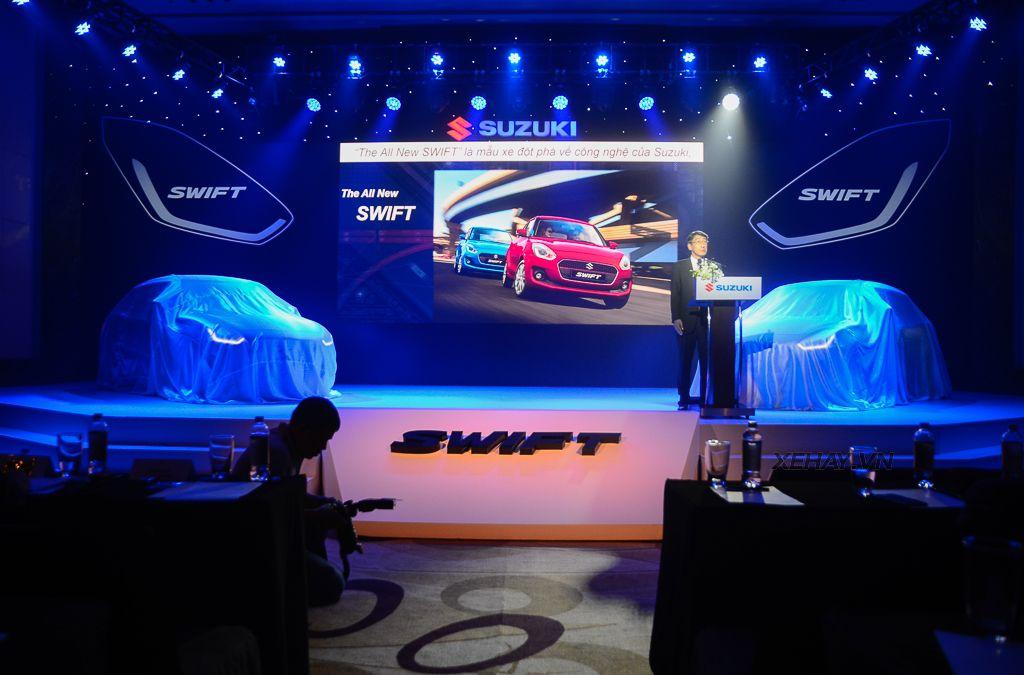 Suzuki Swift hoàn toàn mới chào Việt Nam, giá từ 499 triệu đồng - Hình 1