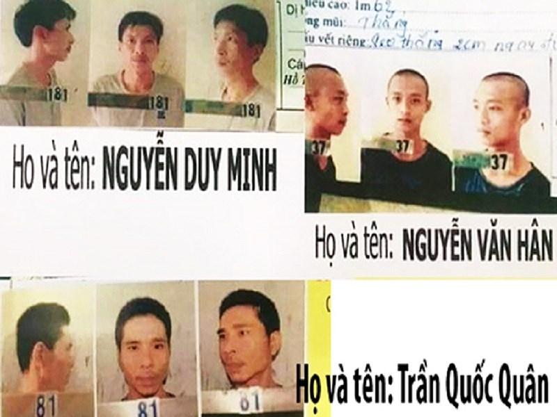 3 phạm nhân trốn trại ở Kiên Giang: Đã bắt lại kẻ phạm tội giết người - Hình 1