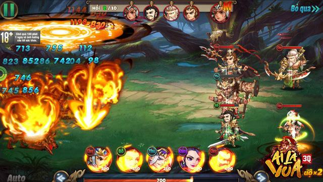 9 tính năng liên server, 500 tướng Tam Quốc, hàng nghìn cách build team, chiến thuật trong 3Q Ai Là Vua là không biên giới - Hình 12