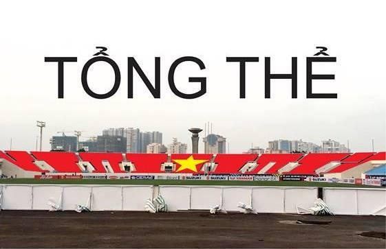Cổ động viên lên kế hoạch tạo lá quốc kì khổng lồ phủ kín khán đài D để cổ vũ đội tuyển Việt Nam - Hình 1
