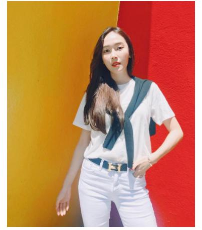 Mách bạn cách mix áo phông trắng cực chuẩn của sao Hàn - Hình 5