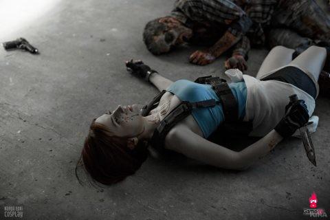 Ấn tượng với bộ ảnh cosplay Resident Evil cực chất đến từ xứ sở Bạch Dương