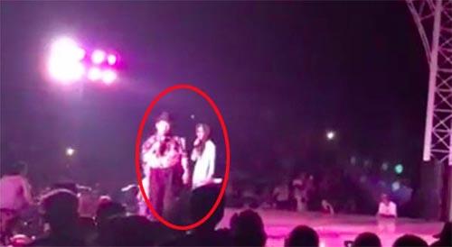 Bị fan kéo quần trên sân khấu, Trường Giang ứng xử không chê được