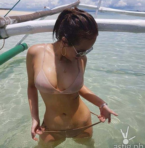 Rụng rời trước vẻ sexy của nữ hoàng bikini Philippines